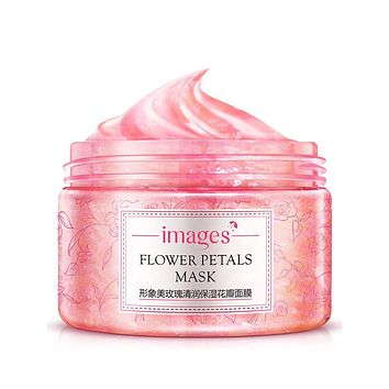Rose  Flower Petals Facial Mask Moisturizing Whitening Moisturizing Skin Care