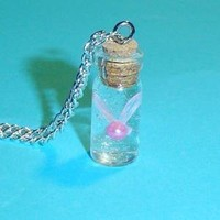 Zelda  Bottled Fairy Necklace by YellerCrakka on Etsy