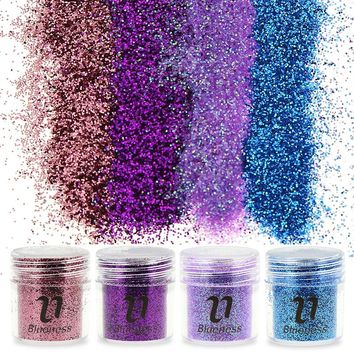 Sequin Nail Glitter - 4 Colors