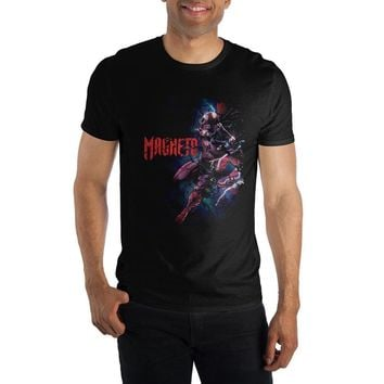 MPTS Marvel Comics Magneto Men's Black T-Shirt Tee Shirt