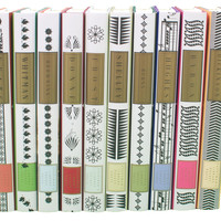 Everyman's Library Poetry, Group A, Set of 10, Fiction Books