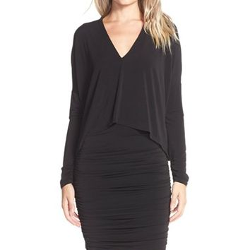 Women's BCBGMAXAZRIA Jersey Popover Dress,