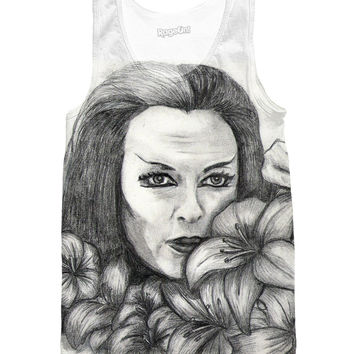 Amongst The Web Of Beauty - Lily Munster - Munsters Tank