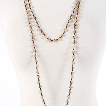 Peyton Necklace - Champagne