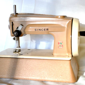 Singer Sewing Machine Manually Toy for Kids Fonctional Learning Toy