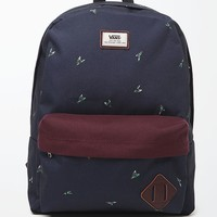 Vans Old Skool II Fly School Backpack - Mens Backpacks - Blue - NOSZ