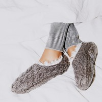 Free People Snowcaps Slipper Sock