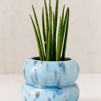 Sarah Glazed Ceramic Planter | Urban Outfitters