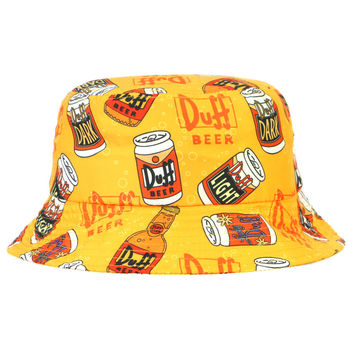 SIMPSONS DUFF BUCKET HAT