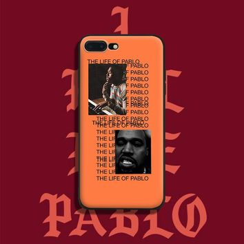 Kanye West Rapper Coque soft silicone TPU Phone Case cover Shell For Apple iPhone 5 5S SE 6 6S 6Plus 6sPlus 7 7Plus 8 8Plus X