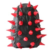 Fashionwu Personalized Unisex Hedgehog Spike Punk Bag Backpack (Red):Amazon:Sports & Outdoors