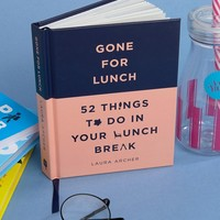 52 Things to Do On Your Lunch Break Book at asos.com
