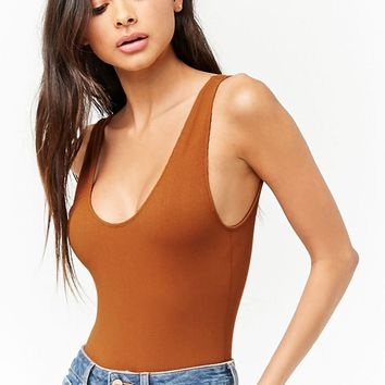 Seamless Ribbed Bodysuit