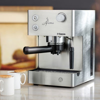 Stainless Steel Aroma Espresso Machine by Saeco