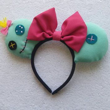 Scrump Minnie Mouse Ears