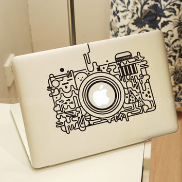 Camera - MacBook Decal MacBook pro sticker MacBook air decal 0087