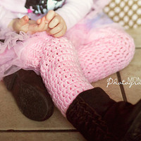 crochet leg warmers for baby girl to child by stitchesbystephann