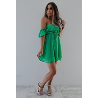 A Perfect Feeling Dress: Kelly Green
