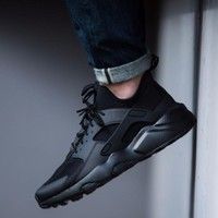 Nike Air Huarache Ultra Triple Black Running Shoes - Best Deal Online