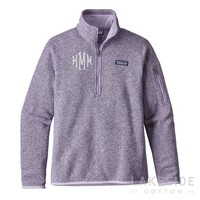 Better Sweater® 1/4-Zip Fleece in Petoskey Purple | Lakeside Cotton