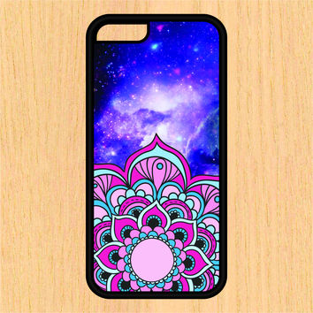 Pink Mandala in Space PC SEC1 Print Design Art iPhone 4 / 4s / 5 / 5s / 5c /6 / 6s /6+ Apple Samsung Galaxy S3 / S4 / S5 / S6