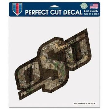 "Licensed Oklahoma State Cowboys NCAA 8""x8"" Camo Die Cut Car Decal Wincraft 122865 KO_19_1"