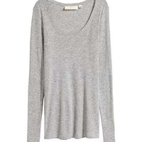 H&M Long-sleeved jersey top JD 9.900