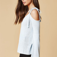 Honey Punch Cold Shoulder Sweater Top at PacSun.com