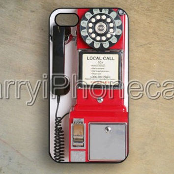 Samsung Galaxy S5,Crosley Pay Phone case cover,Vintage,Red iphone 5/5s case,iPhone 5c case,Samsung Galaxy S3 S4 CASE,iPhone 4/4S Case,P92