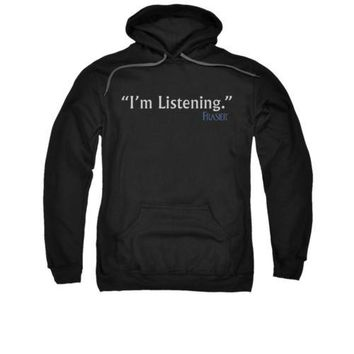 Frasier I'm Listening Licensed Adult Pullover Hoodie