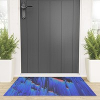 Creeping Melancholia Welcome Mat by duckyb