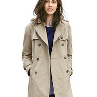 Banana Republic Womens Double Breasted Trench