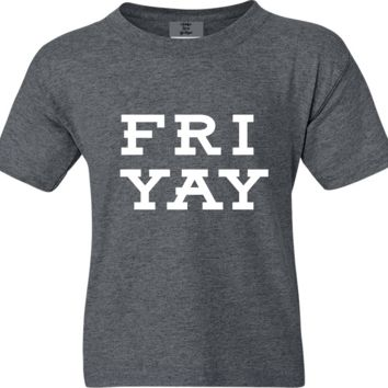FRIYAY Funny Friday Short Sleeve Shirt