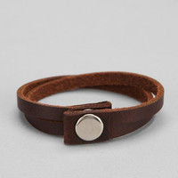 Leather Wrap Bracelet - Urban Outfitters