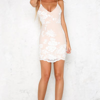 Snowflake Dress White