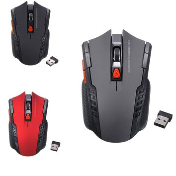 Wireless Optical Professional Gaming Mouse For PC Laptop Desktop