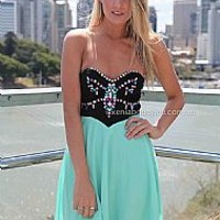MINT JEWEL DRESS , DRESSES, TOPS, BOTTOMS, JACKETS & JUMPERS, ACCESSORIES, 50% OFF SALE, PRE ORDER, NEW ARRIVALS, PLAYSUIT, GIFT VOUCHER, Australia, Queensland, Brisbane