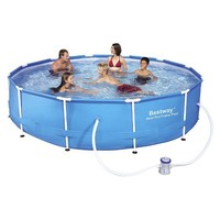 Bestway Above Ground Steel Pro Frame Pool - Blue (1710 Gallons)