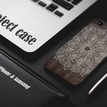 Wood Aztec case iPhone case Samsung case Lucky case Idea case Aztec case Flower Flora