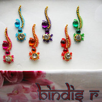 Stunning Handmade Bridal Bindi Jewels for Forehead Decoration.