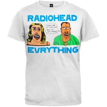 DCCKU3R Radiohead - Everything Soft T-Shirt