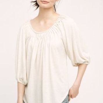 Deletta Peronne Top in Ivory Size: