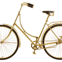 Brass Dutch Bicycle