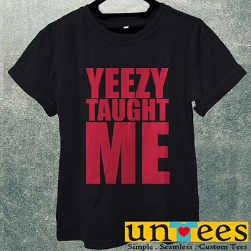 Low Price Men's Adult T-Shirt - Yeezy Taught Me design