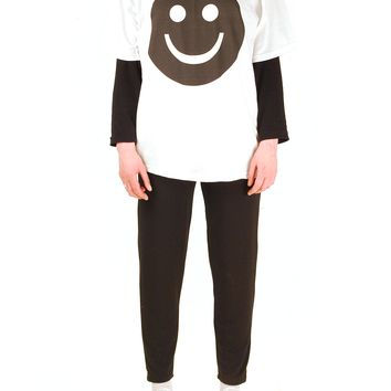 SOOP SOOP Happy Tee, White