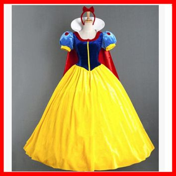 Hot Deal On Sale Princess Dress Cosplay Custome [2208093372514]