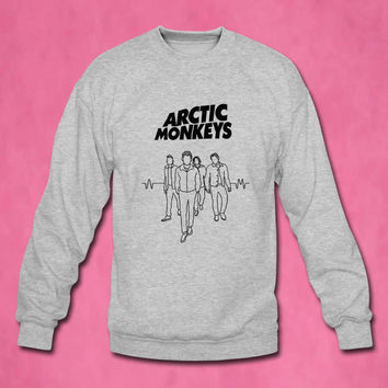 arctic monkeys sweater Sweatshirt Crewneck Men or Women Unisex Size
