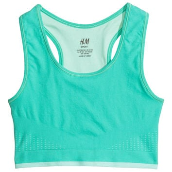 H&M - Sports Bra - Mint green - Kids