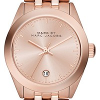 Women's MARC BY MARC JACOBS 'Peeker' Barrel Bracelet Watch, 26mm - Rose Gold
