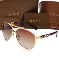 GUCCI Personality Fashion Popular Sun Shades Eyeglasses Glasses Sunglasses H-A50-AJYJGYS